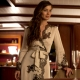 Carine Gilson robe as seen in SkyFall auctioned for Flanders Fields Memorial Garden