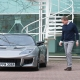 Is Daniel Craig picking up his Lotus Evora with Bond licence plates