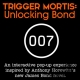 Trigger Mortis Unlocking Bond - an interactive pop-up experience