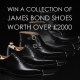 Win a collection of James Bond shoes worth over £2000