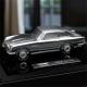 Exclusive silver Aston Martin DB5 model and Martini set