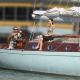 James Bond Spirit 54 Soufrière yacht for sale and on display at London on Water show