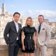 Daniel Craig, Léa Seydoux and Cary Joji Fukunaga in Matera for NO TIME TO DIE