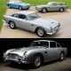 Auctions with Aston Martin DB5 cars and merchandise