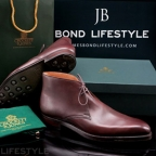 Stepping into Bond shoes at Crockett Jones