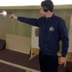 Shooting the Bond handguns in Switzerland