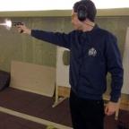 Shooting the Bond handguns in Switzerland