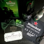 Heieneken SkyFall screening in Amsterdam