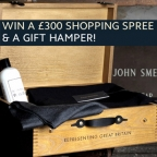 Win a John Smedley hamper with the Bobby pullover
