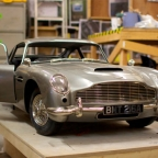 Aston Martin DB5 3D prop model