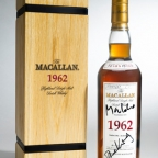 The Macallan 1962 bottle from SkyFall to be auctioned