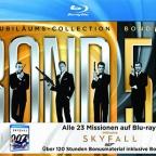 Bond 50 on Blu-Ray now includes SkyFall