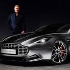 Henrik Fisker reveals Aston Martin Thunderbolt concept car