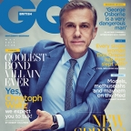 Christoph Waltz on British GQ cover