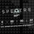 SPECTRE advance box office opens in UK and Ireland