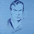 Turnbull & Asser James Bond Illustrated Pocket Square