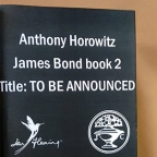 Anthony Horowitz will write second James Bond novel