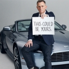Meet Daniel Craig and win an Aston Martin