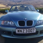 BMW Z3 in GoldenEye trim plus collectibles for sale