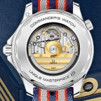 Christie's auction prices of the three Limited Edition Omega Seamaster Commander watches