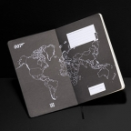 New photos of Moleskine Limited Edition James Bond 007 notebooks, backpack and phone cover