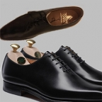 Win Crockett & Jones leather shoes signed by Daniel Craig