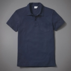 20% OFF Sunspel Riviera Navy Blue Polo Shirt