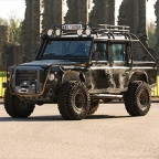 Land Rover Defender SVX SPECTRE edition at RM Sotheby's in Essen