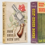 £2.5m James Bond Book Collection for sale at Masterpiece London including signed books to Churchill, Kennedy and others