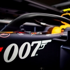 Aston Martin celebrates James Bond connection at British Grand Prix Silverstone Red Bull