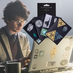 Q's laptop stickers as seen in SPECTRE now available