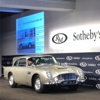 Original James Bond Aston Martin DB5 sold for $6,385,000 at RM Sotheby Monterey Classic Car