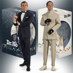 Dr No figures by BIG Chief Studios available for pre-order