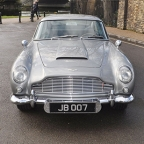 Aston Martin DB5 fitted with James Bond gadgets on auction