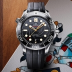 Omega reveals new Omega Seamaster 300 James Bond Limited Edition celebrating 50 Years of On Her Majesty's Secret Service
