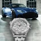 Neiman Marcus Fantasy Gifts Aston Martin DBS Superleggera 'designed by Daniel Craig' and platinum Omega Seamaster Limited Edition