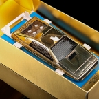 Rare Gold-Plated Corgi James Bond Lotus Esprit for sale