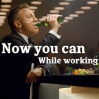 Heineken 0.0 commercial featuring Daniel Craig as James Bond