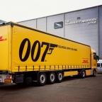 DHL official partner of James Bond film No Time To Die