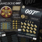 Scientific Games announced that 22 US and international lotteries are launching its new James Bond 007 licensed games