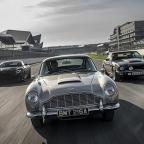 Journalists review Aston Martin Valhalla, DB5, V8 Vantage and DBS Superleggera - Valhalla cut from No Time To Die
