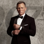 Daniel Craig as James Bond in new Omega Seamaster 300M promotional image