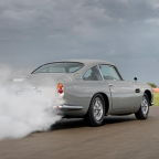Inaugural Aston Martin DB5 Goldfinger Continuation car is completed