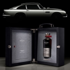 Aston Martin and Bowmore release extremely exclusive Black Bowmore DB5 1964 whisky