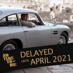 No Time To Die delayed until April 2021