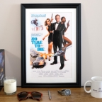 No Time To Die fan poster reminiscent of 1980s Bond posters