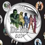 New Perth Mint James Bond 25 Silver Coin Series