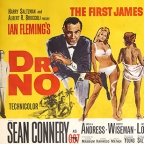20000 for rare James Bond Dr No poster at Ewbanks