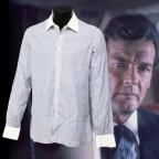Roger Moore's screen-worn shirt and Thunderball props on auction at Ewbanks