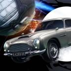 Aston Martin DB5 Rocket League game